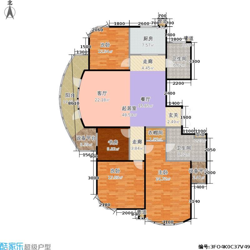 锦兰公寓167.00㎡面积16700m户型