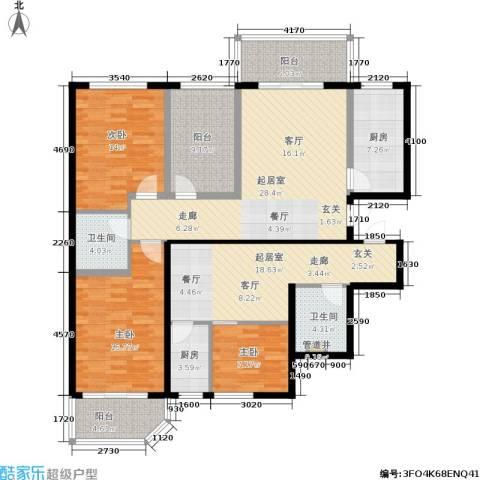 家天下3室0厅2卫2厨176.00㎡户型图