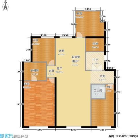 天润・香墅湾1号3室0厅1卫1厨190.00㎡户型图