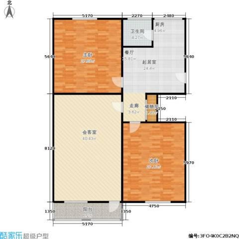 朝晖苑2室0厅1卫0厨139.00㎡户型图