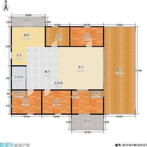 采荷人家5室0厅1卫0厨213.00㎡户型图