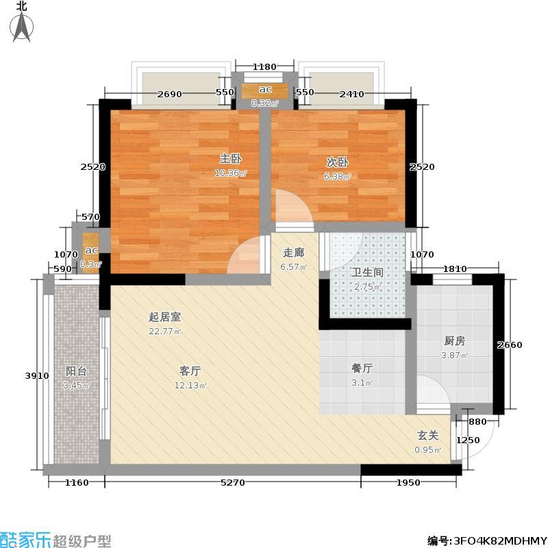 上海城三期单张34栋G1户型