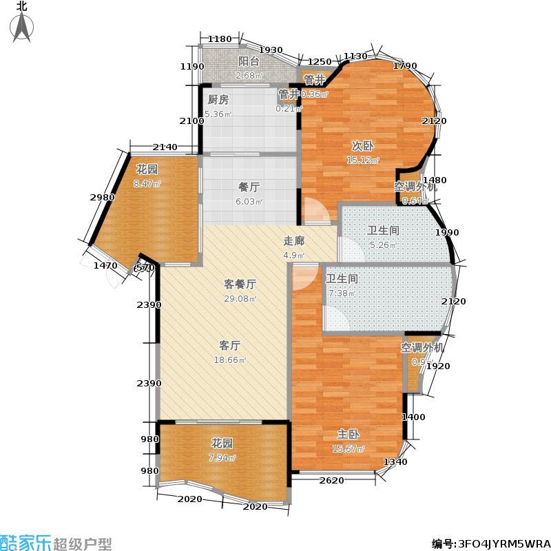 复地上城112.75㎡C3面积11275m户型