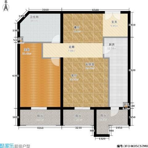 温莎大道1室0厅1卫1厨117.00㎡户型图