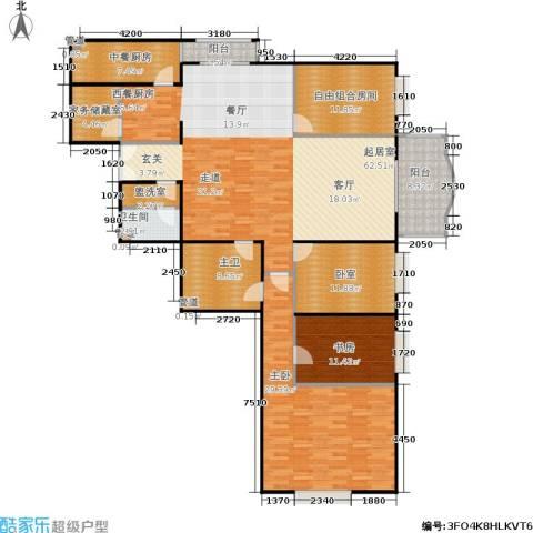 长岛港湾2室0厅1卫0厨181.00㎡户型图