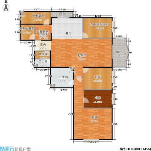 长岛港湾2室0厅2卫0厨181.00㎡户型图