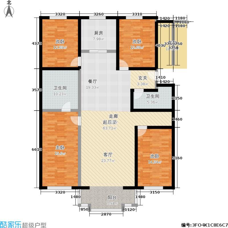 腾龙家园172.24㎡2面积17224m户型