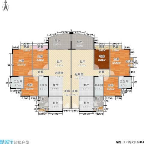东海花园6室0厅4卫2厨192.24㎡户型图