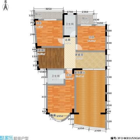 书香名邸3室0厅2卫0厨253.00㎡户型图