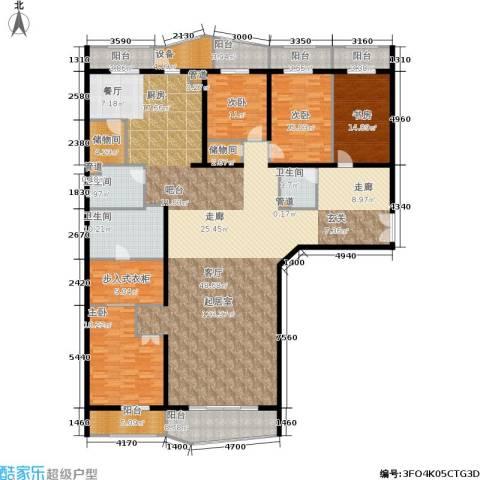温莎大道4室0厅3卫0厨345.00㎡户型图