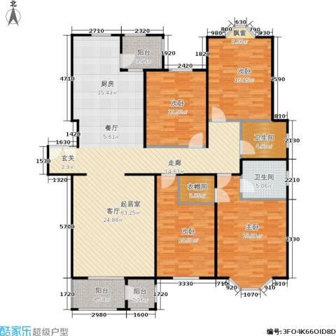 大宁山庄4室0厅2卫0厨160.00㎡户型图
