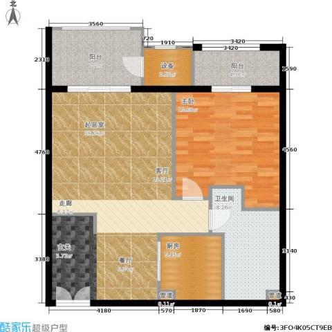 温莎大道1室0厅1卫1厨111.00㎡户型图