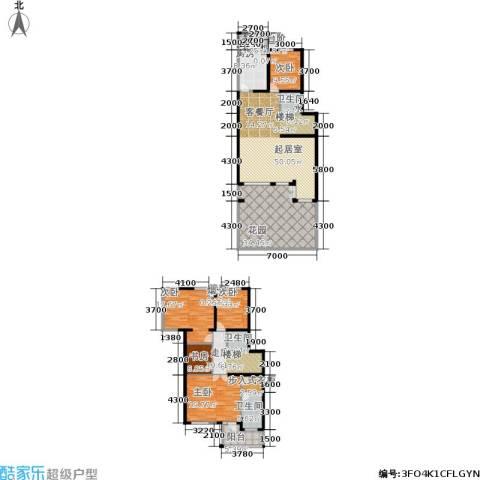 中房水木兰亭5室0厅3卫1厨186.06㎡户型图