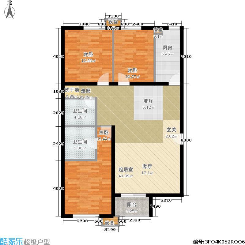 沸城8-4号楼B8(已售户型