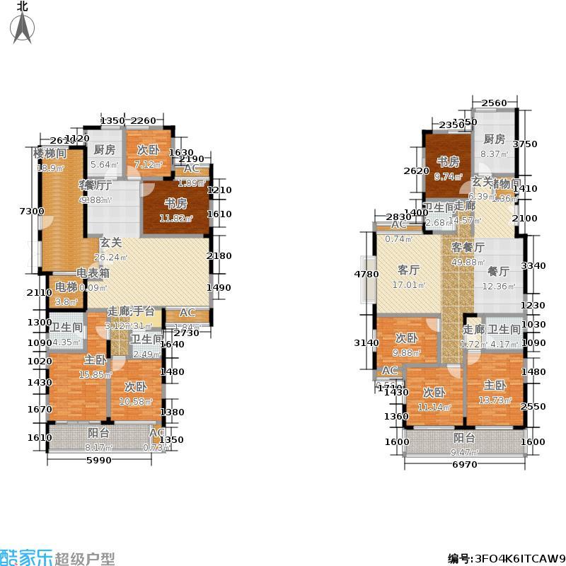 新世界新家园户型8室2厅4卫2厨