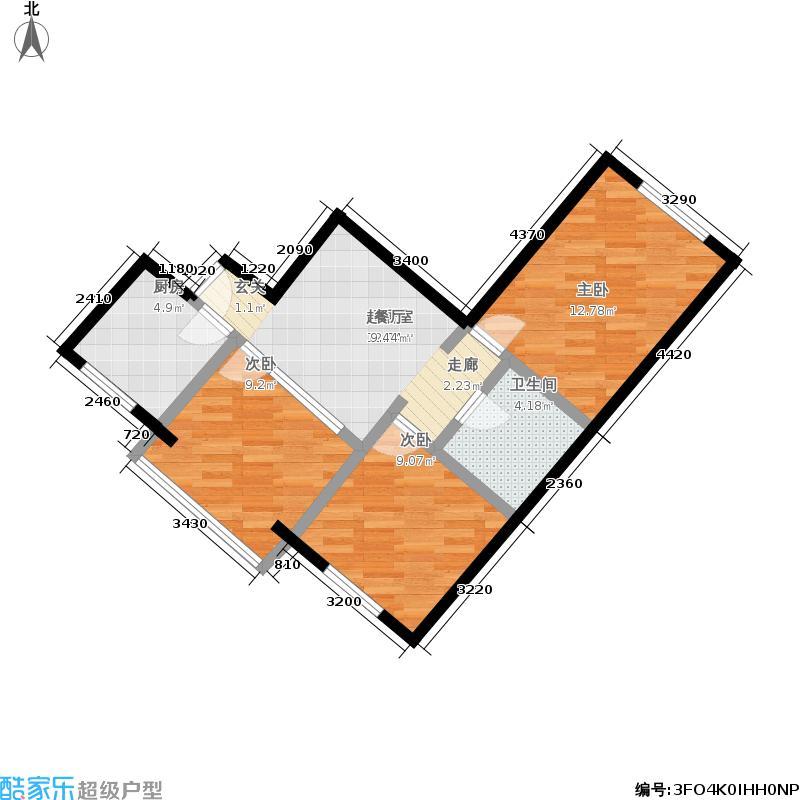 芳群园二区20号楼3门户型
