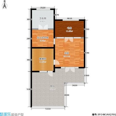国瑞生态城2室0厅1卫0厨128.00㎡户型图