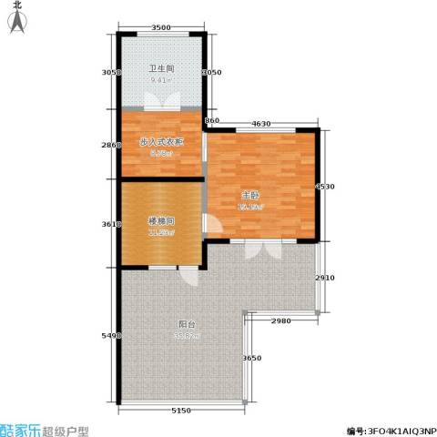 国瑞生态城1室0厅1卫0厨116.00㎡户型图