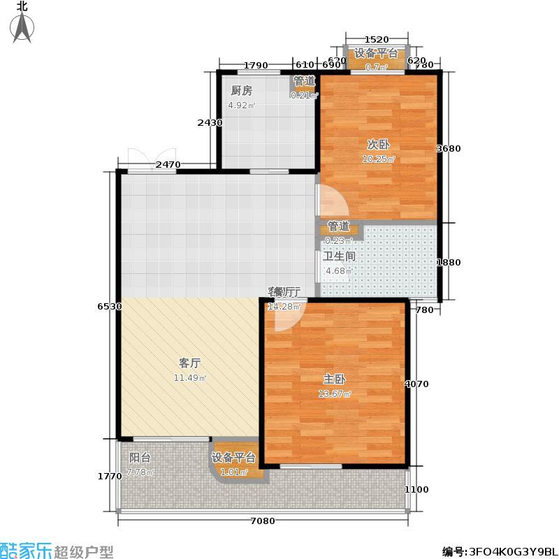 蔚蓝公寓户型