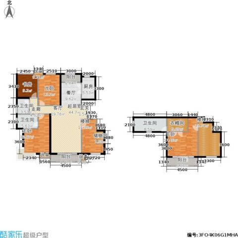 美克嘉美湾4室0厅3卫1厨217.00㎡户型图