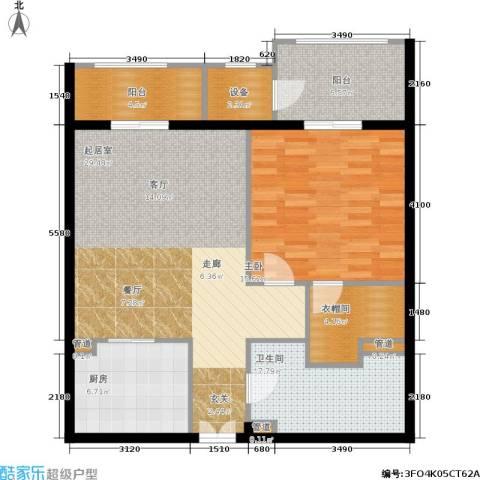 温莎大道1室0厅1卫1厨109.00㎡户型图