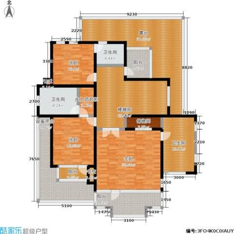 天运花园3室0厅3卫0厨180.21㎡户型图