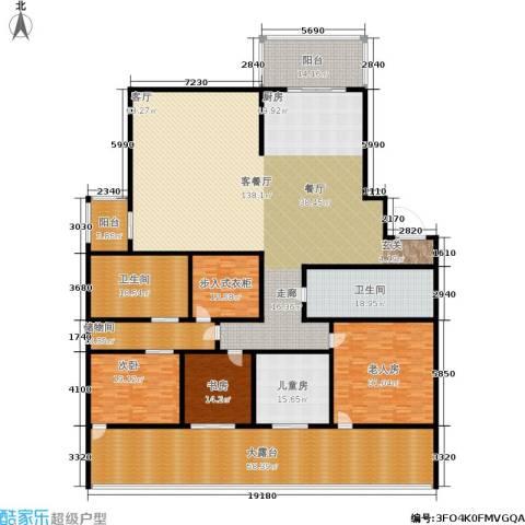 东方润园4室1厅2卫0厨392.00㎡户型图