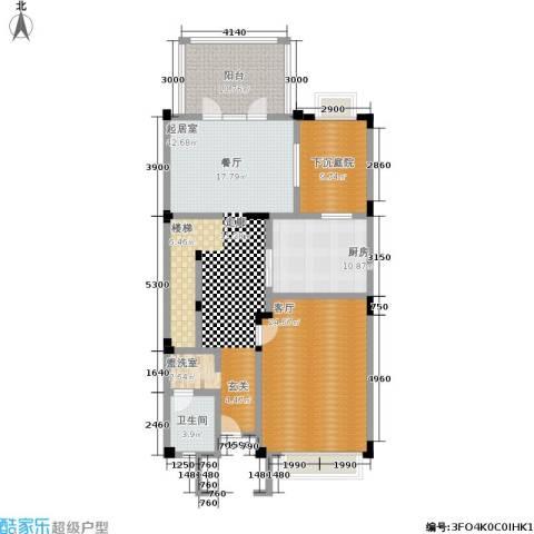 天运花园1厅1卫1厨102.62㎡户型图