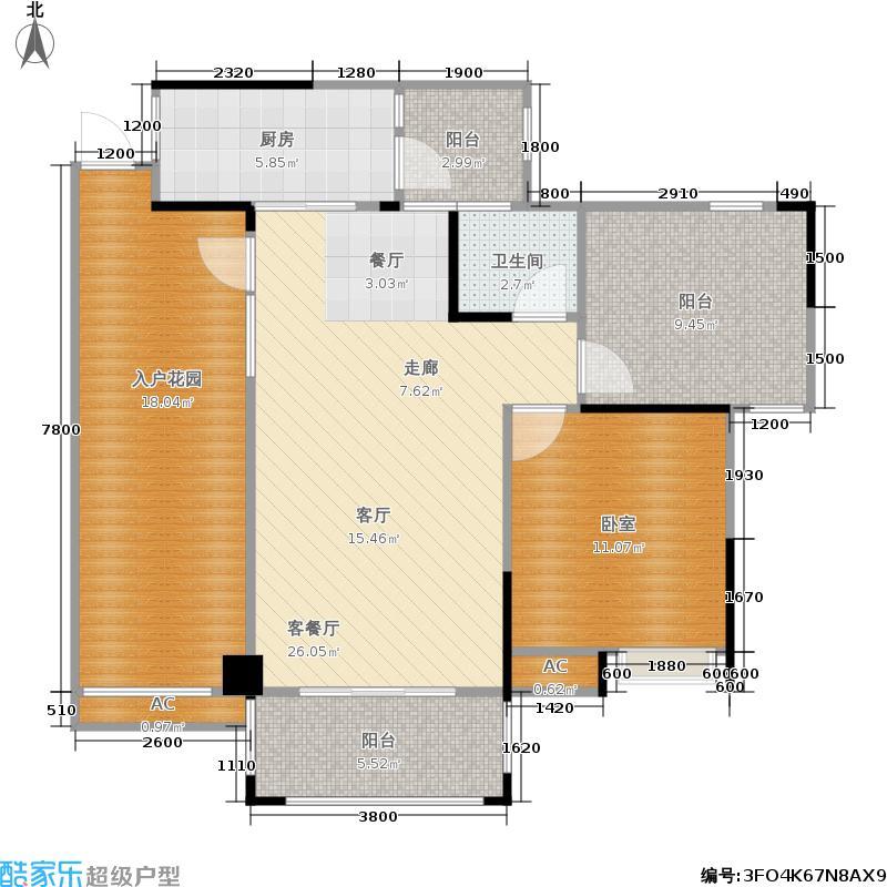 莱茵湖畔莱茵湖畔户型图(25/27张)户型10室