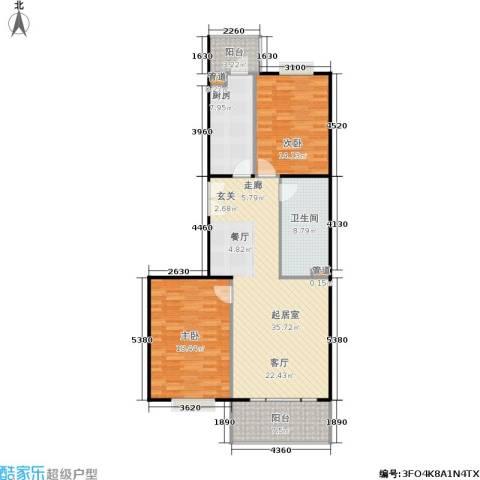 阳春光华家园2室0厅1卫1厨103.00㎡户型图