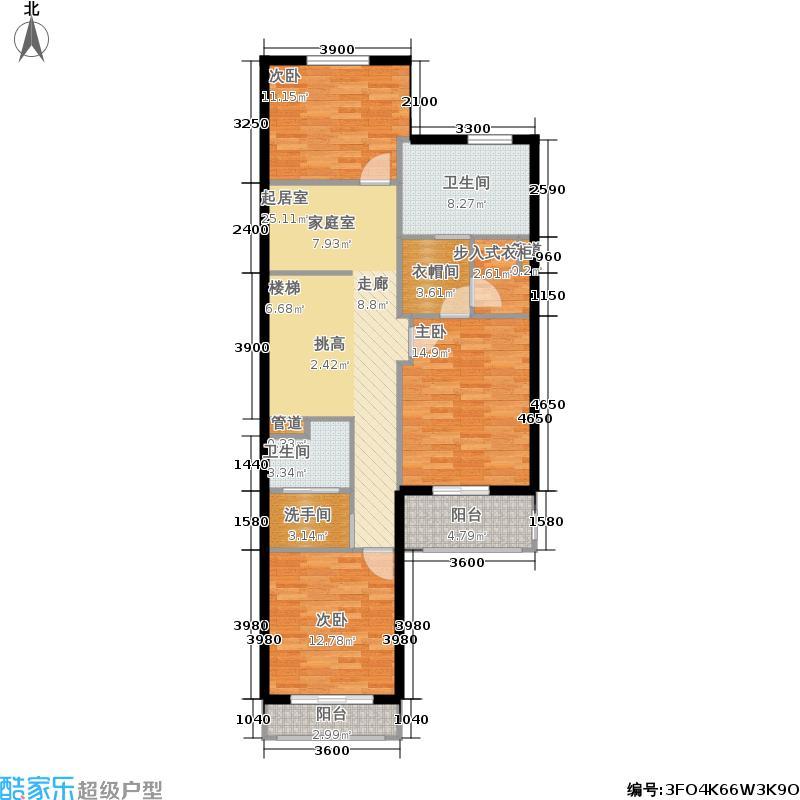 香江别墅II310.00㎡香江别墅II户型图LZ1户型联排二层(15/48张)户型10室