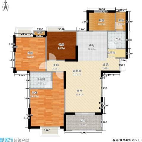 伊萨卡排屋3室0厅2卫1厨135.00㎡户型图
