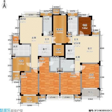 广景苑6室0厅3卫2厨280.00㎡户型图
