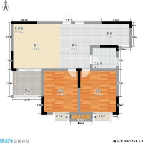 凯富漫城2室0厅1卫0厨89.00㎡户型图