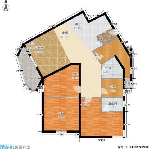金都华庭4室0厅2卫1厨153.00㎡户型图