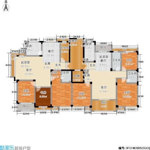 广景苑6室0厅4卫2厨346.00㎡户型图