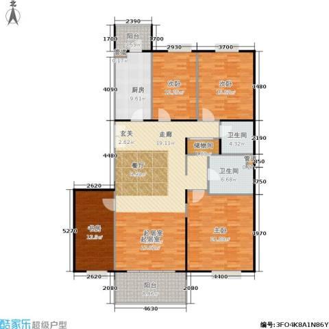 阳春光华家园4室0厅2卫1厨156.00㎡户型图