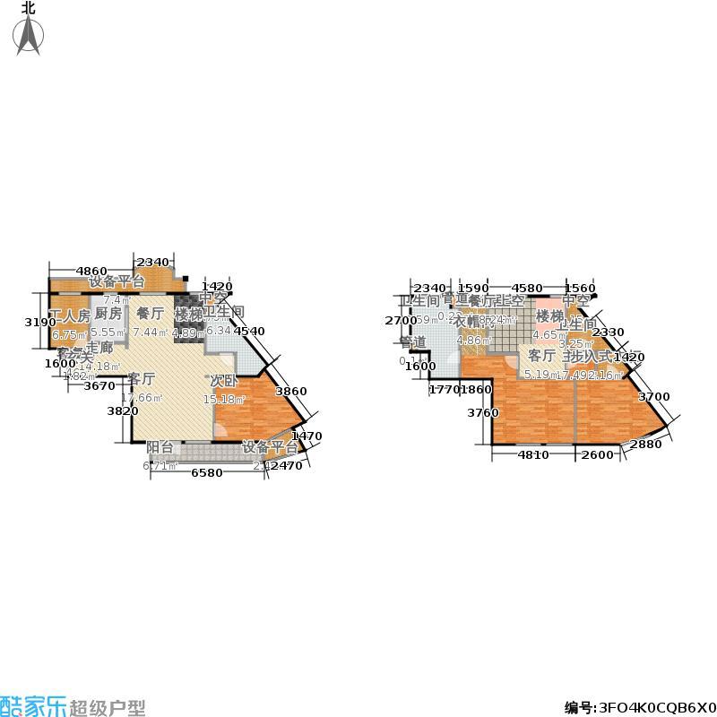 玉兰公寓220.43㎡绿城面积22043m户型