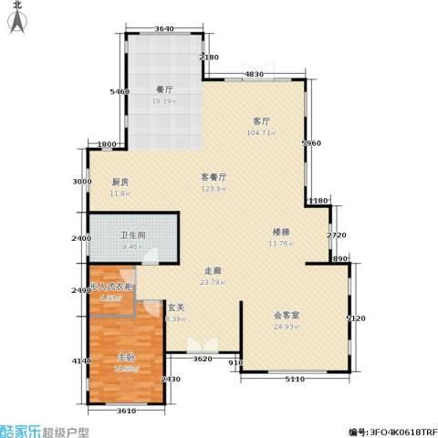 康城暖山1室1厅1卫0厨170.00㎡户型图