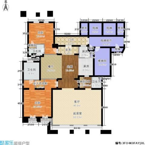 公元沐桥2室0厅3卫1厨214.00㎡户型图