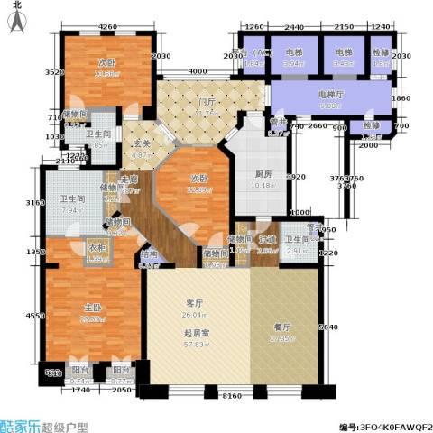公元沐桥3室0厅3卫1厨214.00㎡户型图