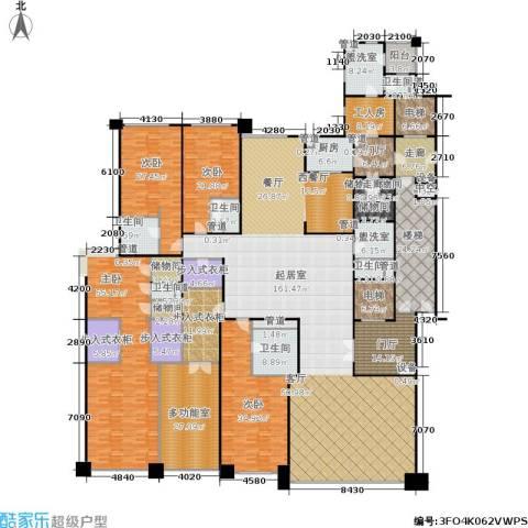合生·霄云路8号4室0厅6卫1厨520.00㎡户型图