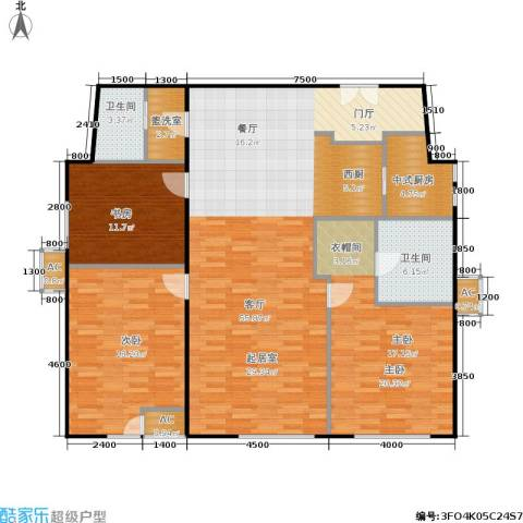 和平里de小镇3室1厅2卫0厨170.00㎡户型图