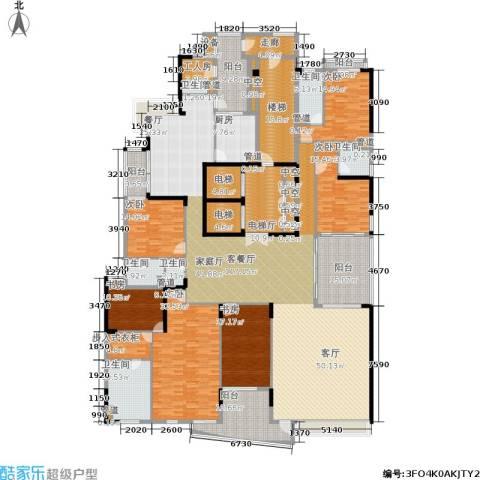 中信君庭6室1厅6卫1厨494.00㎡户型图