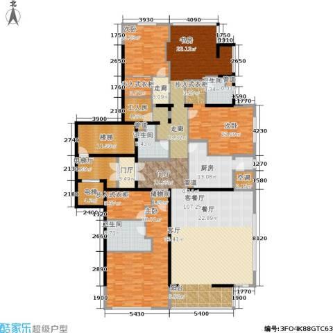 融泽府3室1厅3卫1厨306.00㎡户型图