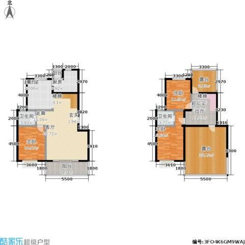 花前树下(二期)3室0厅2卫1厨172.00㎡户型图