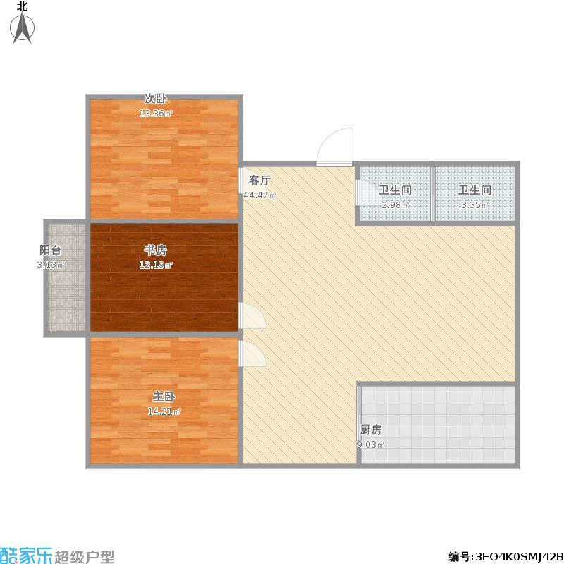 安泰首府3房2厅