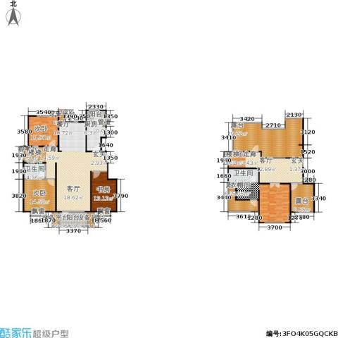 康城·瑞河兰乔4室1厅2卫1厨220.00㎡户型图