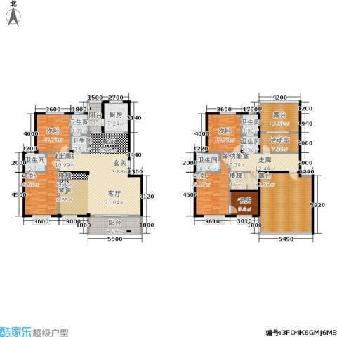 花前树下(二期)5室0厅6卫1厨227.32㎡户型图