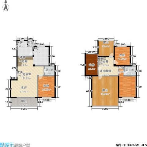 花前树下(二期)4室0厅2卫1厨181.25㎡户型图